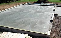 Pour concrete slabs in the Hudson Valley