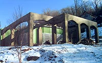 Specialized concrete structures in the Hudson Valley